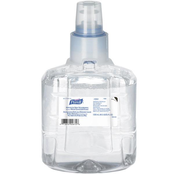 Purell® 1906-02 LTX Advanced Skin Nourishing 1200 mL Foaming Instant Hand Sanitizer - 2/Case