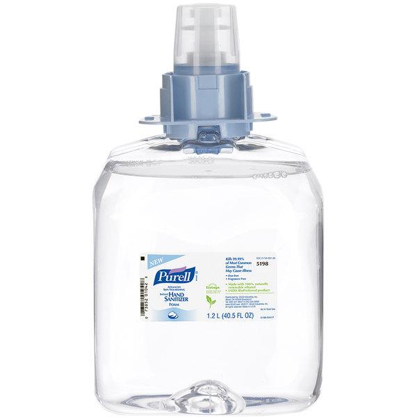 Purell® 5198-03 FMX Advanced Skin Nourishing 1200 mL Foaming Instant Hand Sanitizer - 3/Case Main Image 1