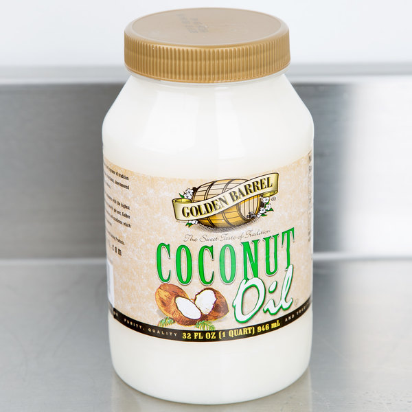 Golden Barrel 32 oz. Coconut Oil