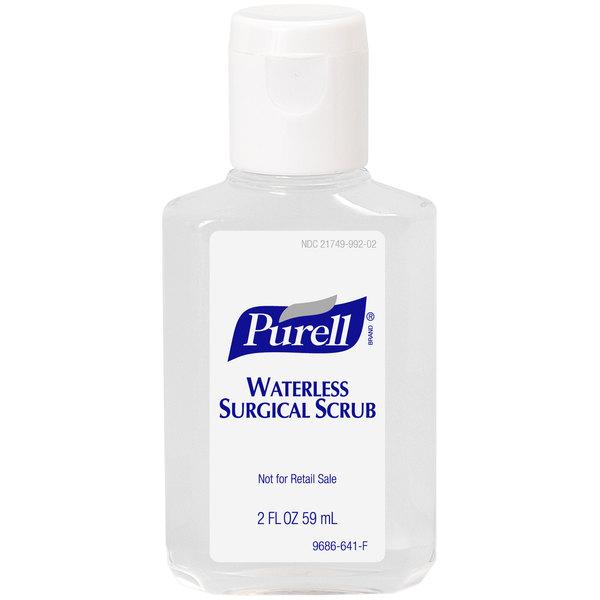 Purell® 9686-24 2 oz. Waterless Surgical Scrub - 24/Case