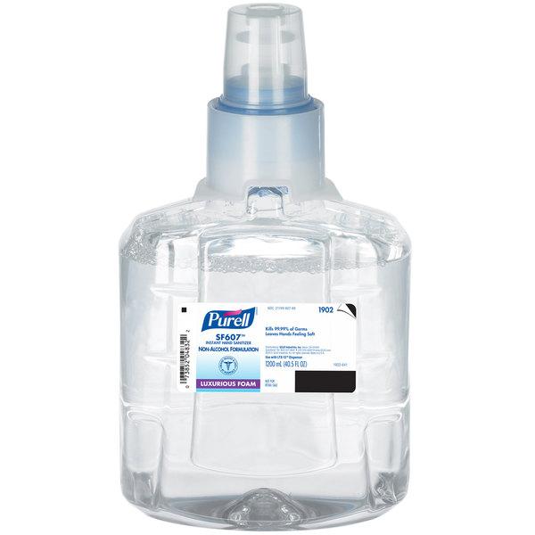 Purell® 1902-02 LTX SF607 1200 mL Foaming Instant Hand Sanitizer - 2/Case