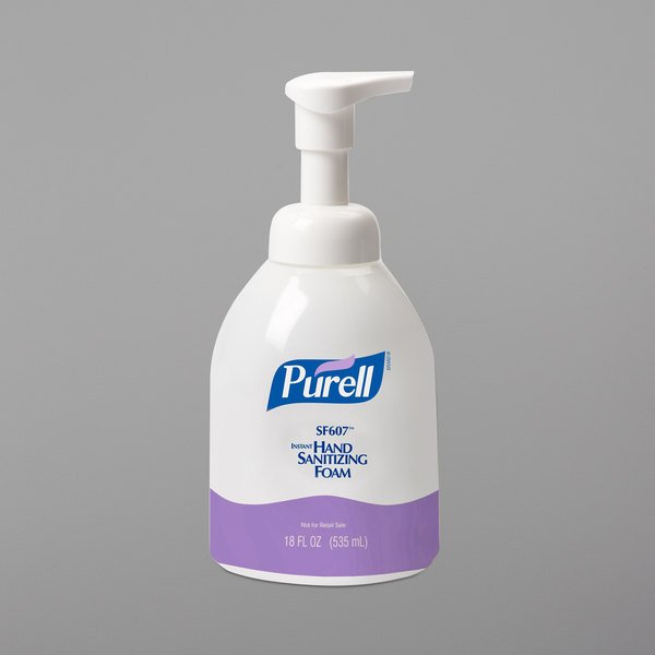 Purell® 5784-04 SF607 535 mL Foaming Instant Hand Sanitizer - 4/Case Main Image 1