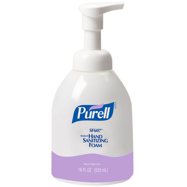 Purell® 5784-04 SF607 535 mL Foaming Instant Hand Sanitizer - 4/Case