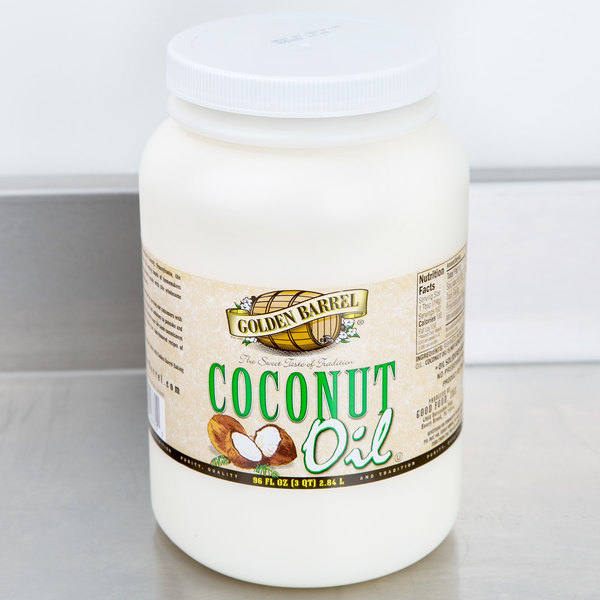 Golden Barrel 96 oz. (6 lb.) Coconut Oil Main Image 3
