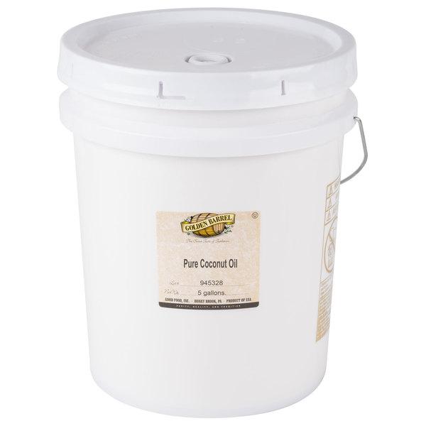 Golden Barrel 5 Gallon (38 lb.) Coconut Oil