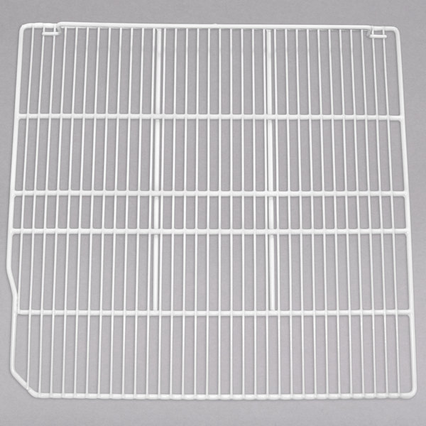 """Turbo Air 30278L0500 White Coated Wire Right Shelf - 23 1/2"""" x 24 5/8"""""""