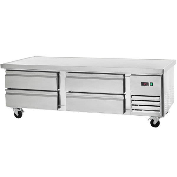 "Arctic Air ARCB72 74"" Four Drawer Refrigerated Chef Base"
