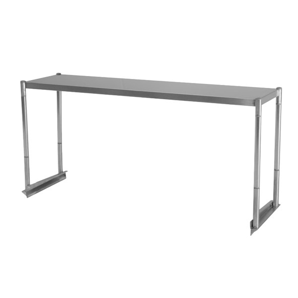 "Turbo Air TSOS-P4 Stainless Steel Single Overshelf - 45"" x 11 1/8"" Main Image 1"