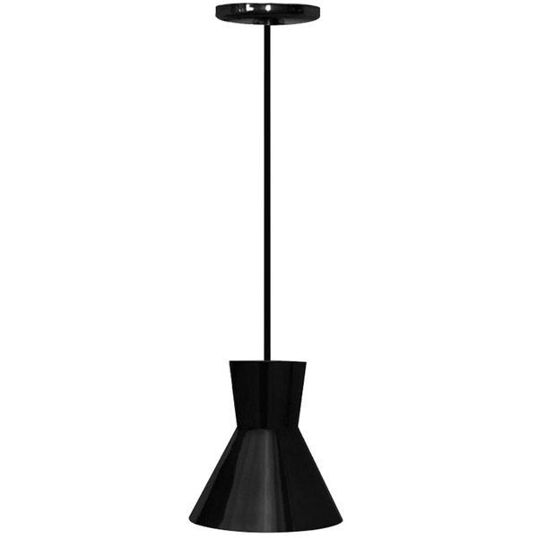 Hanson Heat Lamps 300-C-B Ceiling Mount Heat Lamp with Black Finish