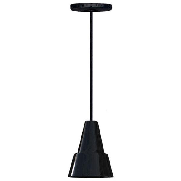 Hanson Heat Lamps 100-C-B Ceiling Mount Heat Lamp with Black Finish