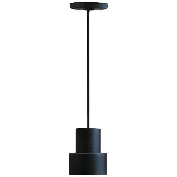Hanson Heat Lamps 200-SMT-B Rigid Stem Ceiling Mount Heat Lamp with Black Finish