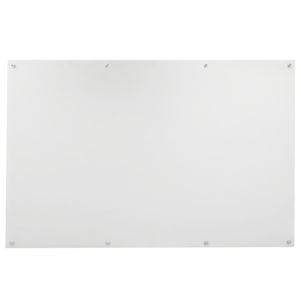 """Aarco WGB4896NT 48"""" x 96"""" White Pure Glass Markerboard"""