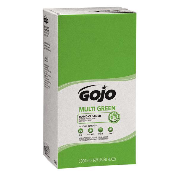 GOJO® 7565-02 TDX 5000 mL Multi Green Hand Cleaner - 2/Case Main Image 1