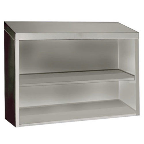 "Advance Tabco WCO-15-72 72"" Stainless Steel Open Wall Cabinet"