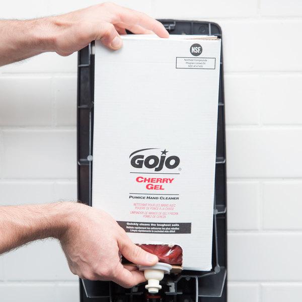 GOJO® 7590-02 TDX 5000 mL Cherry Gel Pumice Hand Cleaner - 2/Case