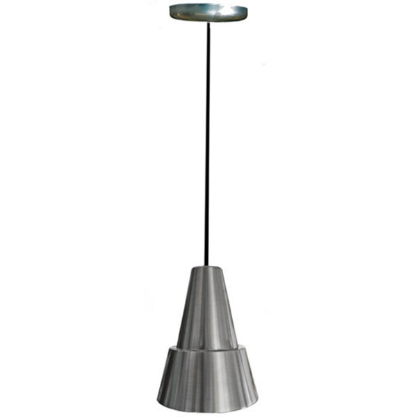 Hanson Heat Lamps 100-C-SS Ceiling Mount Heat Lamp with Stainless Steel Finish