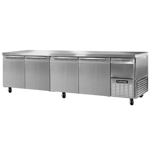 "Continental Refrigerator CRA118 118"" Extra-Deep Undercounter Refrigerator - 44 Cu. Ft."