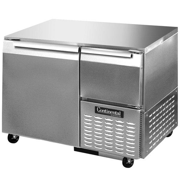 "Continental Refrigerator CFA43-U 43"" Low Profile Undercounter Freezer - 12 Cu. Ft."