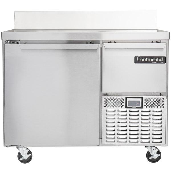 "Continental Refrigerator CRA43-BS 43"" Extra-Deep Worktop Refrigerator with Backsplash - 12 cu. ft."