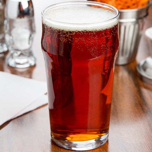 Acopa 20 oz. English Pub / Nonic Glass - 12/Case Main Image 2