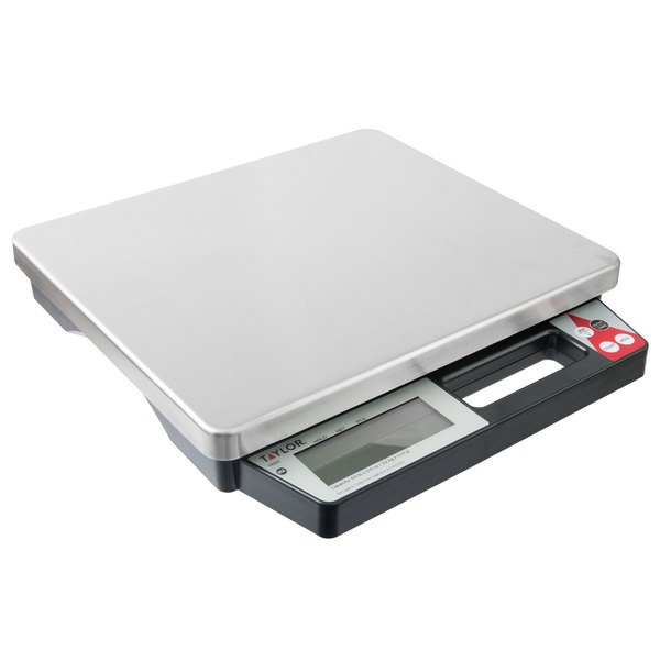 a20a80df3bee Taylor TE50 50 lb. Digital Portion Control Scale with Built-in Handle