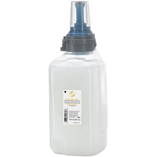 GOJO® 8823-03 ADX 1250 mL Invigorating Conditioning Shampoo & Body Wash - 3/Case