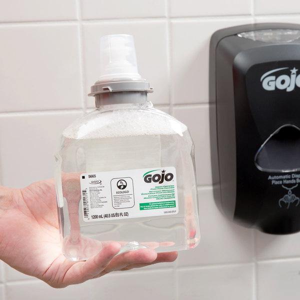 GOJO® 5665-02 TFX 1200 mL Green Certified Foam Hand Soap - 2/Case