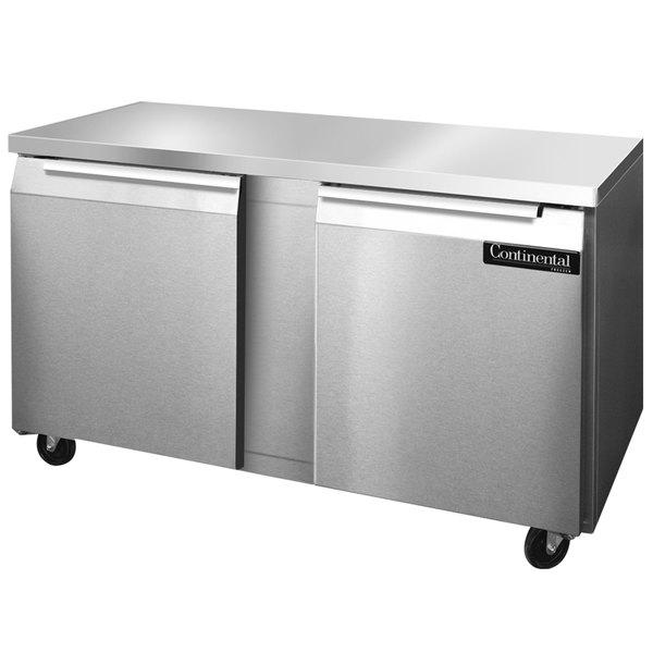"""Continental Refrigerator SWF60 60"""" Undercounter Freezer"""