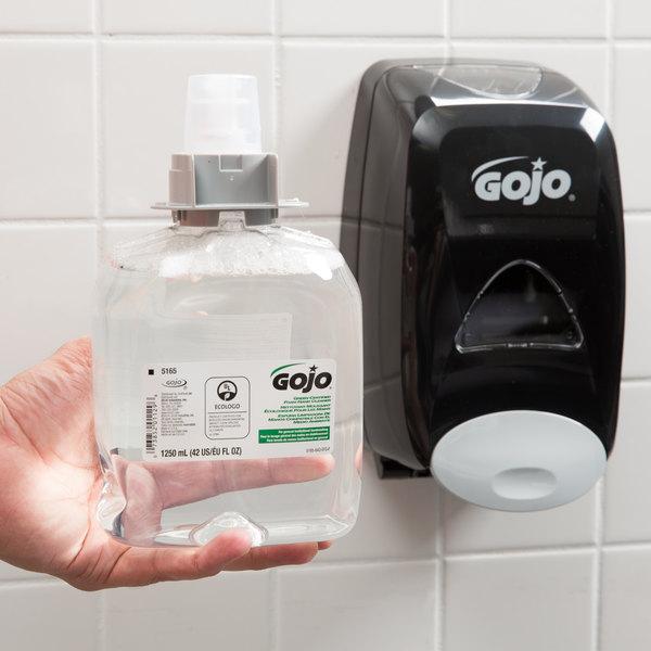 GOJO® 5165-03 FMX-12 Green Certified 1250 mL Fragrance Free Foaming Hand Soap - 3/Case