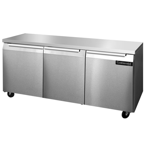 "Continental Refrigerator SW72 72"" Undercounter Refrigerator"