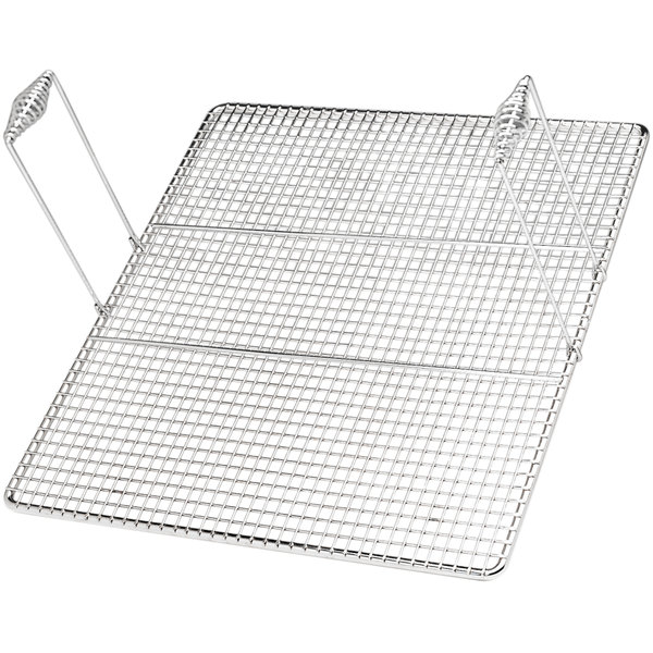 "Pitco P6072401 23"" x 23"" Mesh Donut Screen with Handles"