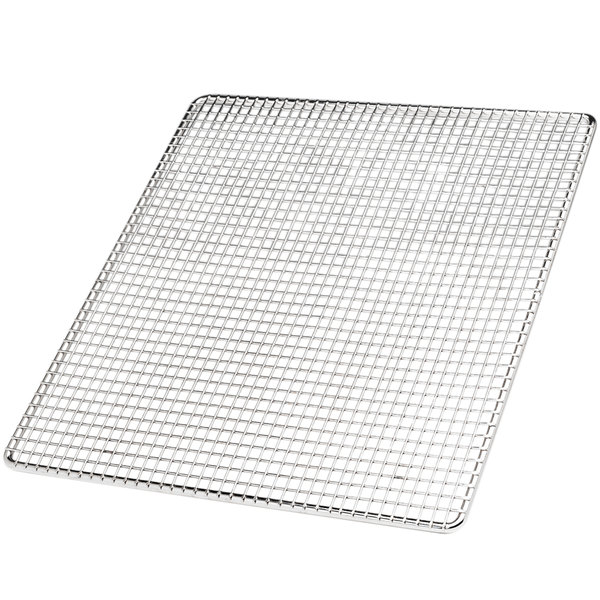 "Pitco P6072402 23 1/2"" x 23 1/2"" Mesh Fryer Screen Main Image 1"