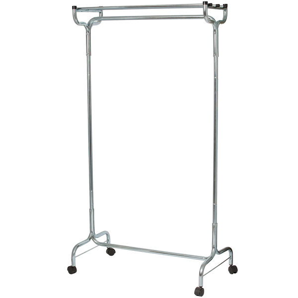 """48"""" Portable Coat / Hat Rack with Casters"""