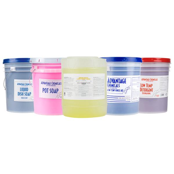 Advantage Chemicals 5 gallon / 640 oz  Liquid Dish Soap