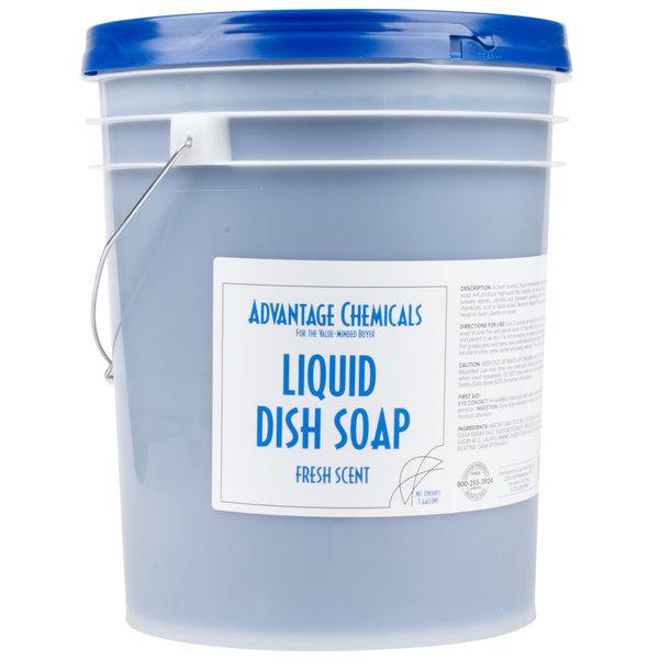 Advantage Chemicals 5 gallon / 640 oz. Liquid Dish Soap