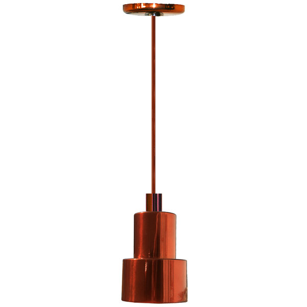 Hanson Heat Lamps 200-SMT-SC Rigid Stem Ceiling Mount Heat Lamp with Smoked Copper Finish