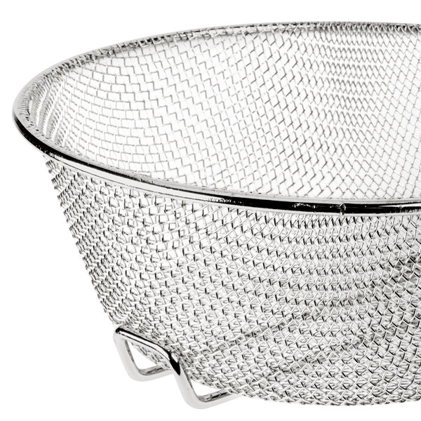 8 Quot Round Fine Mesh Culinary Basket