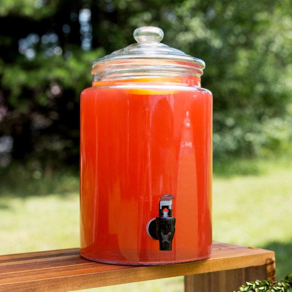 Core 1.75 Gallon Glass Beverage Dispenser
