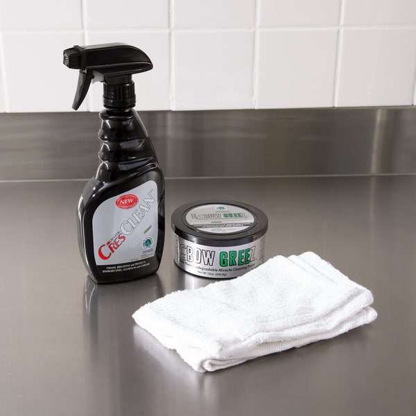 Cres Cor Elbow Greez / CresClean Cleaning Paste and Polish Kit
