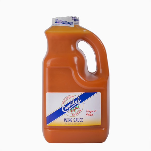 Crystal 1 Gallon Original Buffalo Wing Sauce - 4/Case
