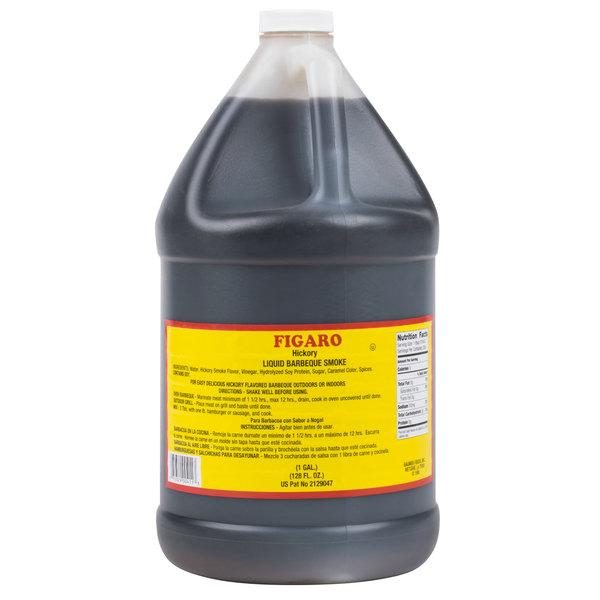Figaro 1 Gallon Hickory Liquid Smoke and Marinade