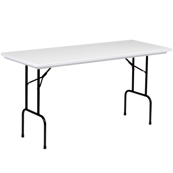 Correll 36 bar height folding table 30 x 72 blow molded plastic correll 36 bar height folding table 30 x 72 blow molded plastic granite gray rs3072 watchthetrailerfo