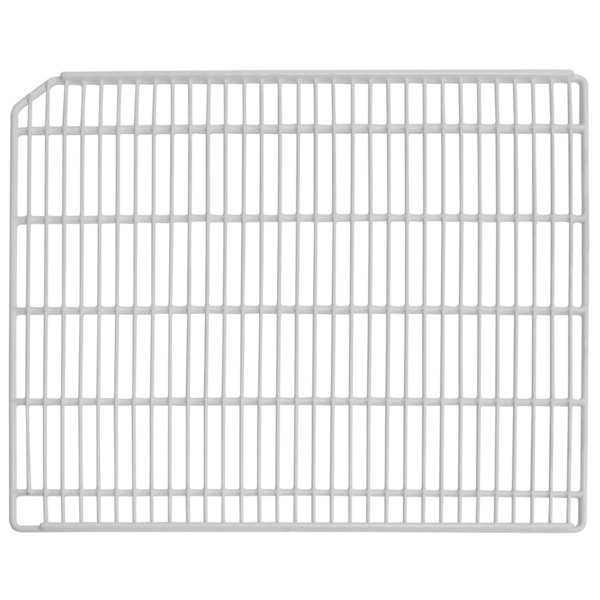 "Turbo Air P0178K0100 Left White Coated Wire Shelf - 22 3/4"" x 23 3/4"""