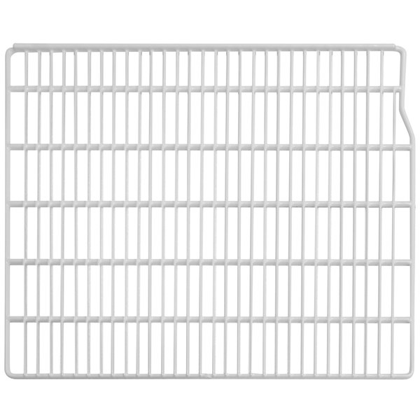 """Turbo Air P0178Q0110 Right White Coated Wire Shelf - 22 1/2"""" x 23"""" Main Image 1"""