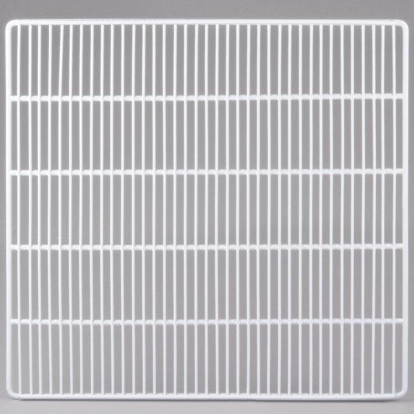 "Turbo Air WM27800100 White Coated Wire Shelf - 22 1/2"" x 17"" Main Image 1"