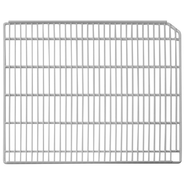 """Turbo Air P0178K0200 Right White Coated Wire Shelf - 22 3/4"""" x 23 3/4"""""""