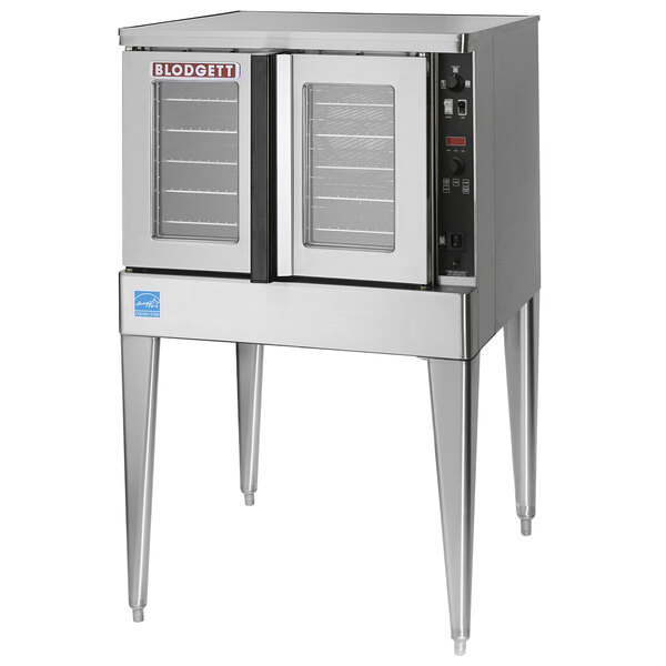 Blodgett Mark V-200 Premium Series Single Deck Roll-In Model Bakery Depth Full Size Electric Convection Oven - 208V, 3 Phase, 11 kW Main Image 1