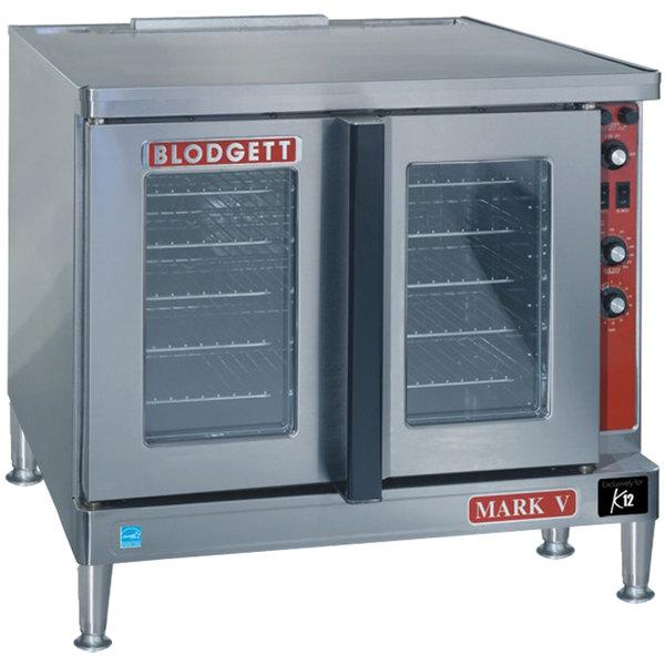 Blodgett Mark V-100 Premium Series Additional Model Full Size Electric Convection Oven - 220/240V, 1 Phase, 11 kW Main Image 1