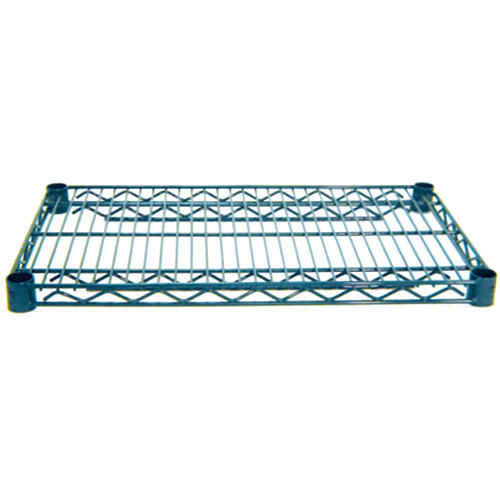 Advance Tabco EG-2136 21 inch x 36 inch NSF Green Epoxy Coated Wire Shelf