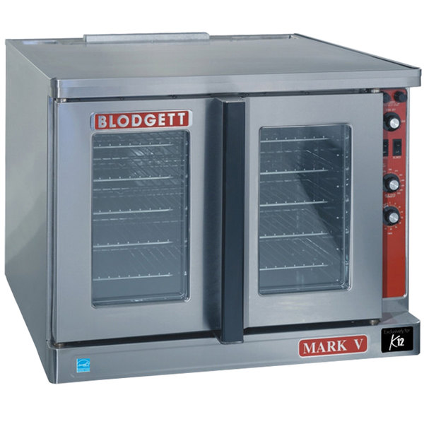 Blodgett Mark V-200 Premium Series Replacement Base Model Bakery Depth Full Size Electric Convection Oven - 208V, 1 Phase, 11 kW Main Image 1